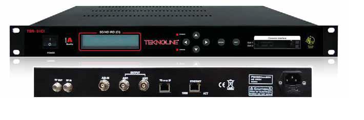 TSR-01CI-HD IRD (CI)-DV3S-S2>ASI-IPTV