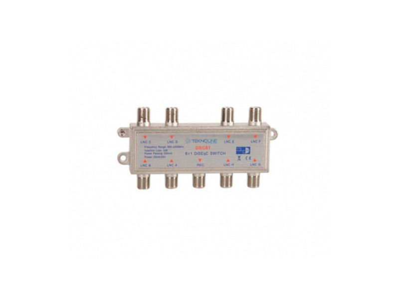 [DSC-81 ] DSC-81 8x1 DiSEqC Switch