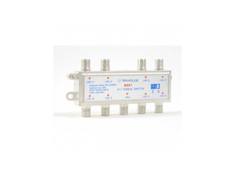 [MS-81] 8X1 MS-81 DiSEqC SWITCH