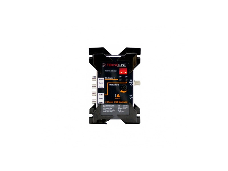 [TDM 2002U] TDM 2002U UHF DSB Modülatör ÇİFT YAN BANTLI TV MODULATOR