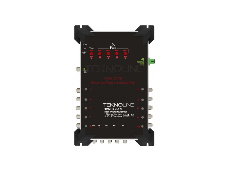 [TFM 11-10 C] Fiber Optik Multiswitch (4 IF + 1 RF)