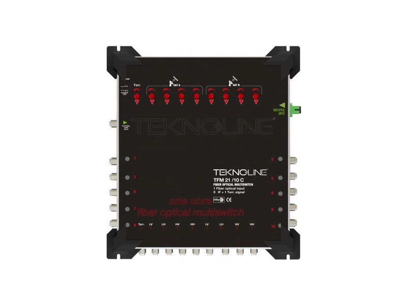 [TFM 21-10 C] Fiber Optik Multiswitch (8 IF + 1 RF)