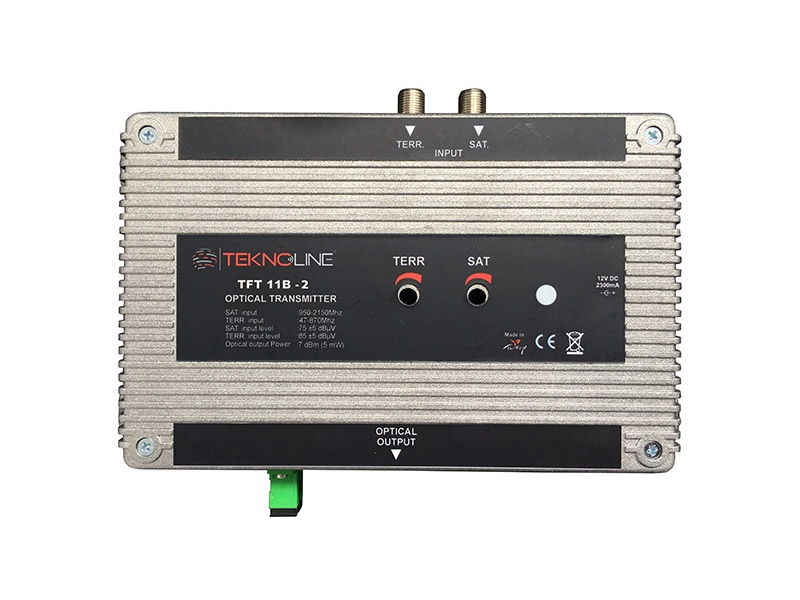 [TFT 11B-2] Fiber Optik Transmitter 1 RF + 1 IF